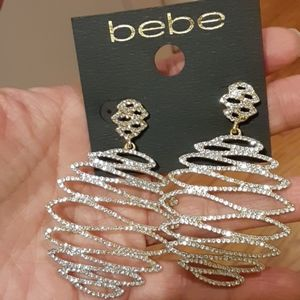 NEW sparkly babe earrings